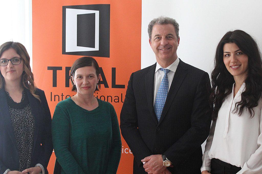 BiH team meet ICTY Prosecutor Serge Brammertz in Sarajevo, May 2017