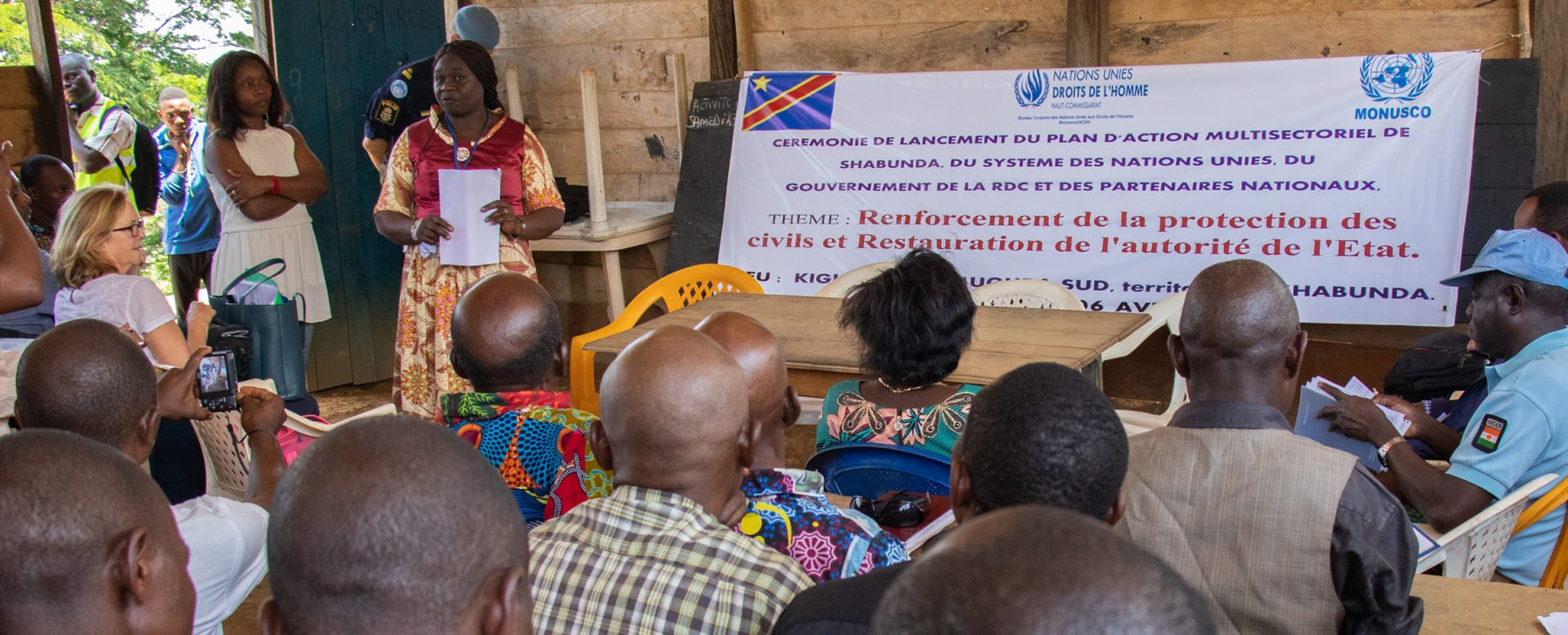 The United Nations and its partners in the DRC have launched a stabilization plan for Shabunda