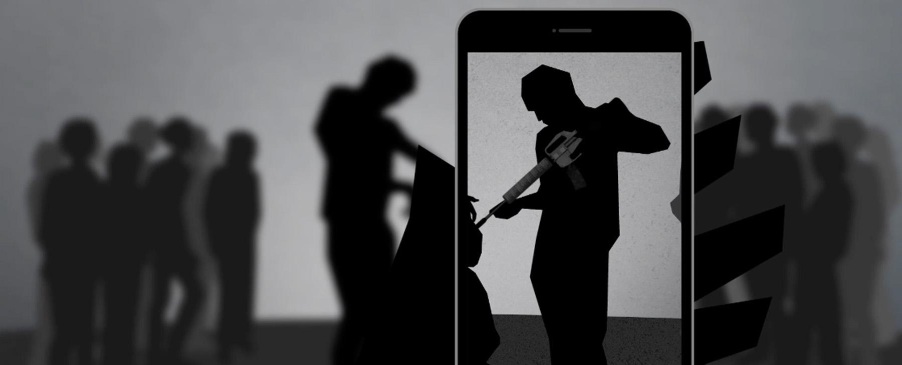 The smartphone app capturing the worst atrocities