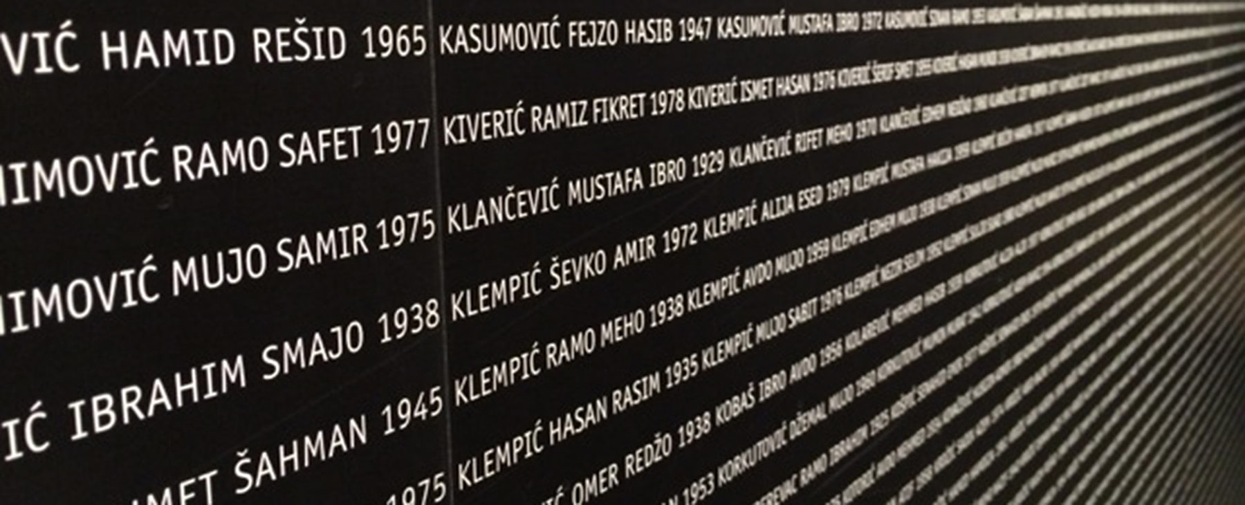 Denying wartime horrors is now a criminal offence in BiH